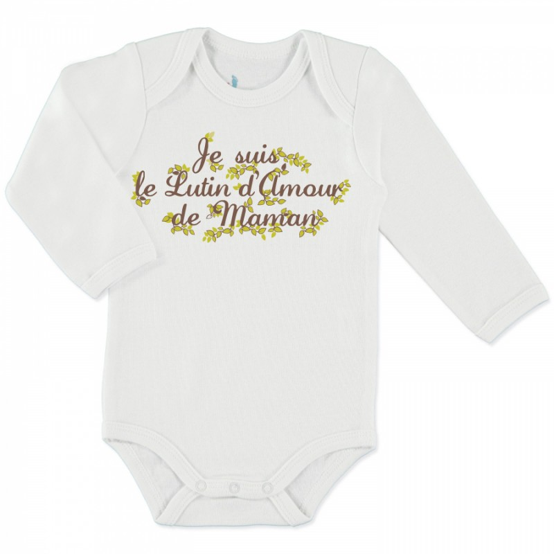 Body Manches Longues Lutin d'Amour